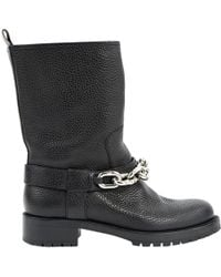 e133f64ce963 Louis Vuitton Leather Boots in Black - Lyst