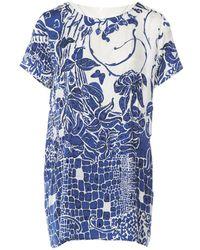 Emilio Pucci - Pre-owned Silk Mini Dress - Lyst