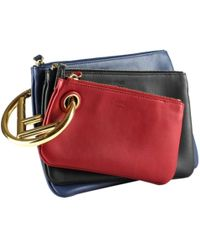 Fendi Triplette Multicolor Leather