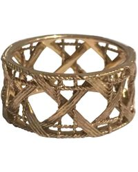 Dior - Pre-owned Pink Gold Ring - Lyst