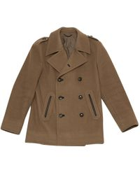 Louis Vuitton - Wool Peacoat - Lyst