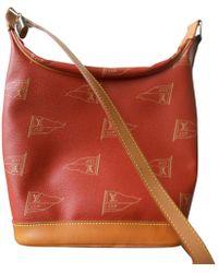 Louis Vuitton - Pre-owned Orange Cloth Handbag - Lyst