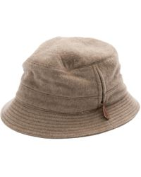 9f853d5ca2b Hermès - Pre-owned Vintage Beige Cashmere Hats   Pull On Hats - Lyst