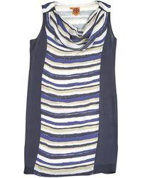 Tory Burch - Pre-owned Silk Mini-dress - Lyst