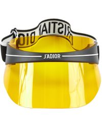 Dior - Pre-owned Yellow Plastic Hats - Lyst