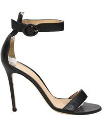 Gianvito Rossi - Leather Heels - Lyst