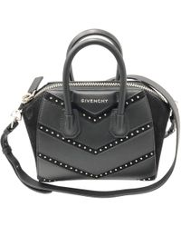 901a39235a61 Givenchy - Pre-owned Antigona Black Leather Handbags - Lyst. Givenchy - Small  Pandora Bag ...