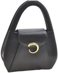 Cartier - Panthère Black Leather - Lyst