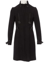 Moschino Black Wool Coat