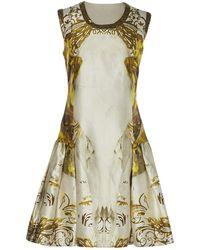 Prabal Gurung - Multicolour Silk Dress - Lyst