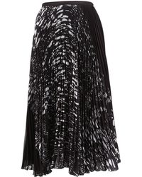 Timo Weiland - Black Polyester Skirt - Lyst