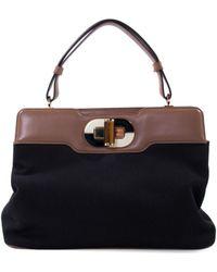 BVLGARI - Cloth Handbag - Lyst
