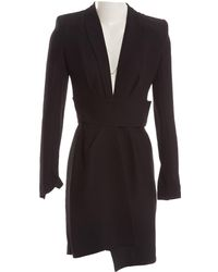 7fc1276a7bf9 For Love   Lemons Tarta Long Sleeve Mini Dress in Black - Lyst
