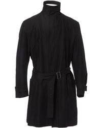Jil Sander - Pre-owned Black Cotton Coat - Lyst