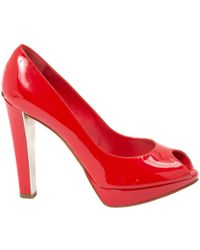Dior - Pre-owned Patent Leather Heels - Lyst