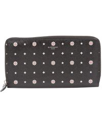 Givenchy - Black Leather Purses, Wallets & Cases - Lyst