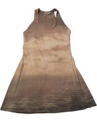 Roberto Cavalli - Multicolour Synthetic Dress - Lyst