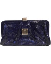 c91a5d2c7d Lyst - Prada - Elephant Print Clutch Bag - Women - Calf Leather ...