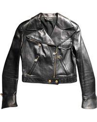 Chanel - Leather Biker Jacket - Lyst