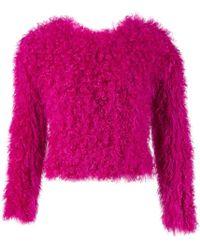 Thakoon - Pink Wool Knitwear - Lyst