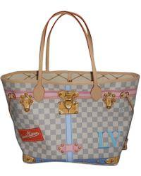 Louis Vuitton - Pre-owned Neverfull Cloth Handbag - Lyst