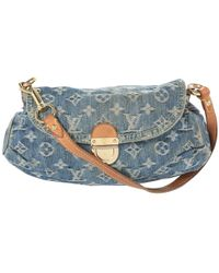 Louis Vuitton - Blue Denim - Jeans Clutch Bag - Lyst