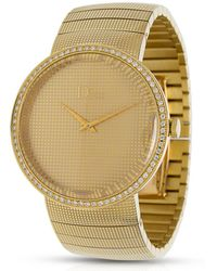 Dior - Pre-owned D Yellow Gold Watch - Lyst