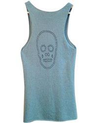 Zadig & Voltaire - Grey Cashmere Knitwear - Lyst