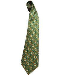 8c6634e67354 Hermès - Green 7605 Silk Tie Men's - Lyst. Hermès - Silk Tie - Lyst