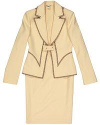 Versace - Wool Suit Jacket - Lyst
