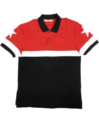 c32450d66 Givenchy Polo Shirt With Floral Print in Black for Men - Lyst