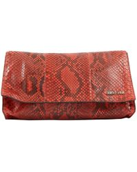 d157f21ccf7c Roberto Cavalli Navy Exotic Leather Clutch Bag in Blue - Lyst