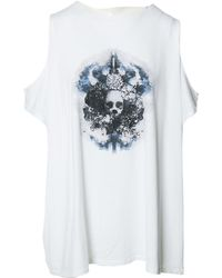 Givenchy - White Cotton Top - Lyst