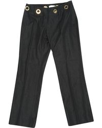 Céline - Pre-owned Straight Jeans - Lyst