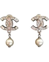 Chanel - Other Metal Earrings - Lyst