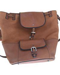 cfa872fc84f8 Burberry Medium Ashby Check Tassel Bag in Brown - Lyst