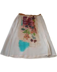 Dries Van Noten - Silk Mid-length Skirt - Lyst