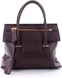 Tom Ford - Red Leather Handbag - Lyst