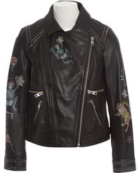 Zadig & Voltaire - Black Leather Jacket - Lyst