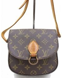 Louis Vuitton - Pre-owned Saint Cloud Cloth Handbag - Lyst
