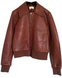 Ba&sh - Leather Jacket - Lyst