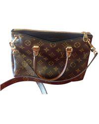 Louis Vuitton - Pre-owned Pallas Cloth Crossbody Bag - Lyst