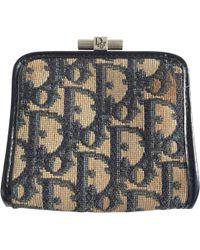 Dior - Pre-owned Cloth Purse - Lyst