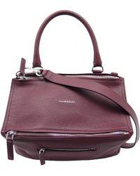 Givenchy - Pandora Leather Handbag - Lyst