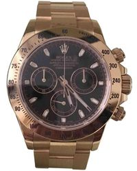 Rolex - Daytona Gold Yellow Gold Watches - Lyst