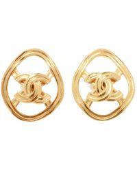 Chanel - Pre-owned Earrings - Lyst
