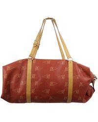 Louis Vuitton - Vintage Red Cloth Bag - Lyst