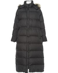 Moncler - Pre-owned Black Polyester Coats - Lyst