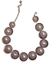Chanel - Pre-owned Pearl Necklace - Lyst