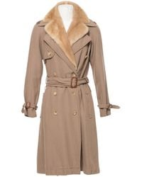 Lanvin - Pre-owned Trench Coat - Lyst